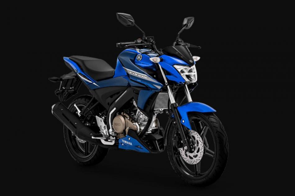 All New Yamaha Vixion Varian Metalic Blue Yang Gahar Dan Sporty, Yamaha Motor.co.id