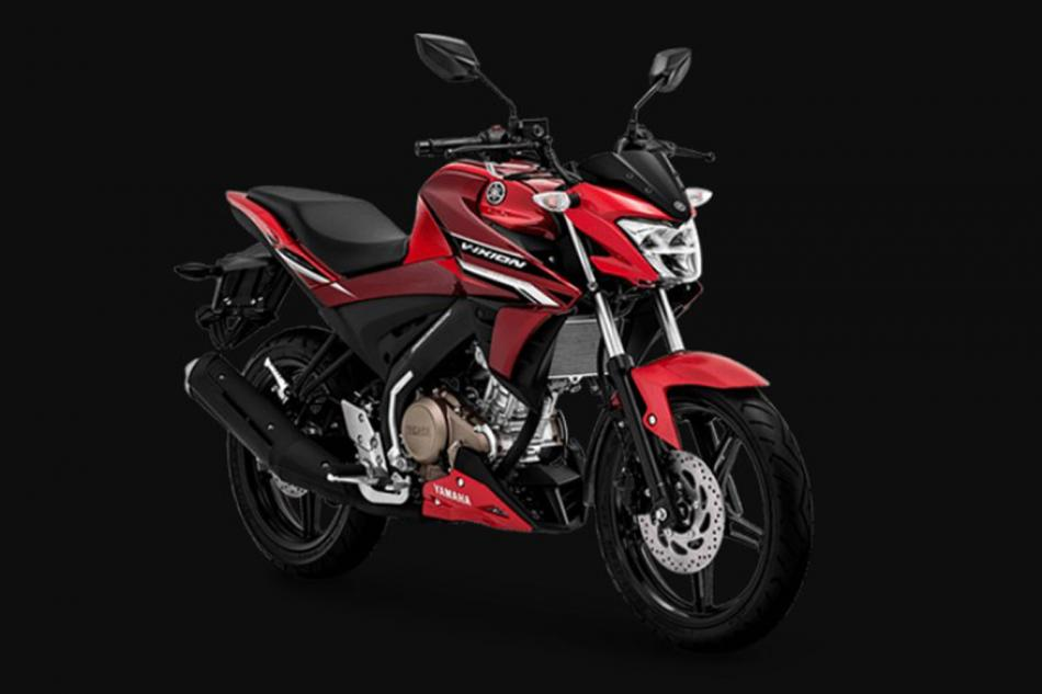 All New Yamaha Vixion Varian Metalic Red Yang Gahar Dan Sporty, Yamaha Motor.co.id