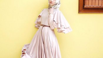 Model Baju Dress Panjang Simple 1